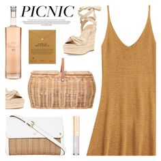 """Picnic in the Park"" by deepwinter ❤ liked on Polyvore featuring Bloomingville, Chase, Kendall + Kylie, Dogeared, Dolce&Gabbana and picnic"