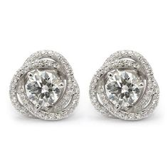 Jackets for diamond studs. Change a classic again and again. I need these in all different colors!