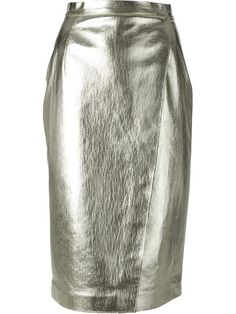 Shop MSGM metallic pencil skirt in Smets from the world's best independent boutiques at farfetch.com. Over 1000 designers from 300 boutiques in one website.