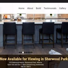 Stream Custom Home Builders In Sherwood Park AB