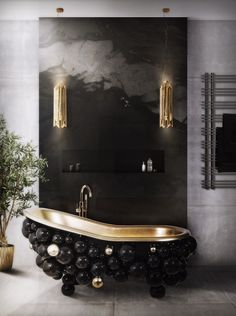 Along the years, everyone started to decorate the bath with luxurious furniture. Maison Valentina Blog has collected 8 millionaire bathrooms to inspire you.