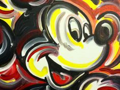 Mickey Mouse Painting by Justin Patten Pop Art by stormstriker, $45.00