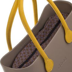 Canvas Inner Bag - Brown Pattern - O bag Accessory