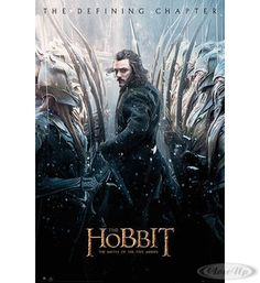 The Hobbit Poster Die Schlacht der fünf Heere Bard Hier bei www.closeup.de