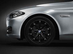 BMW 5 Series Sedan, 535i, Winter complete wheel sets 18'' light-alloy wheel, Star-spoke 365