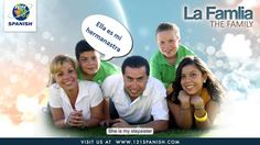 La familiaThe family and family members in Spanish / The verb TENER to e...