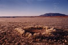 "One Namibia Fairy Circle in the African Desert. One of Africa's most mysterious natural phenomena still cannot be explained despite 25 years of research, scientists admitted yesterday.    Rings known as ""fairy circles"" that pockmark vast areas of desert in Namibia and South Africa have baffled botanists from the University of Pretoria and the Polytechnic of Namibia."