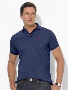 Classic-Fit Mesh Polo - Polo Ralph Lauren Classic Fit - Ralph Lauren France