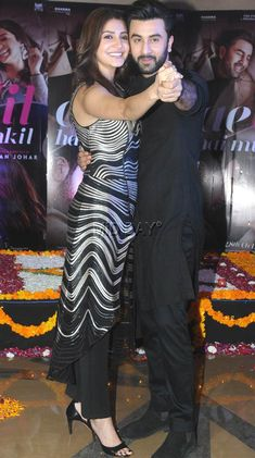 Bollywood stars Ranbir Kapoor, Anushka Sharma were in the capital to promote their just-released movie, Ae Dil Hai Muskhil . Here are some pictures Bollywood Couples, Bollywood Actress Hot Photos, Indian Actress Hot Pics, Most Beautiful Indian Actress, Bollywood Stars, Bollywood Celebrities, Bollywood Fashion, Indian Actresses, Ranbir Kapoor Hairstyle