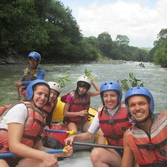 Join us for a day of River Rafting in the Highlands of Panama!