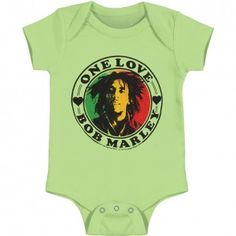 Bob Marley One Love Heart Bodysuit