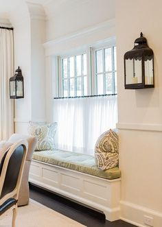 Nicely scaled & shaped lantern sconces with candles (especially for spot w/o easy electrical access)