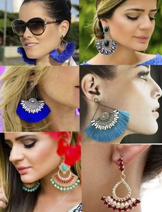Brinco Leque   blog Charme Makeup