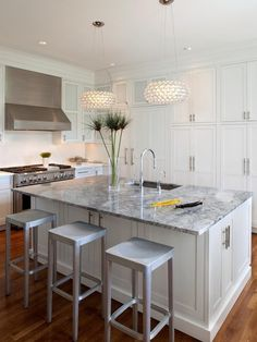 I'm all for open-plan kitchens!