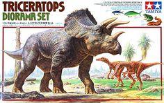 恐竜 トリケラトプス 情景セットタミヤ(プラモデル)