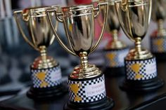 Race Car Party Trophy Favor Stickers Cars Birthday Party set of 32 by Belleza e Luce via Etsy