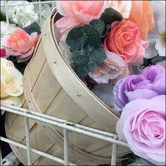 Gridwall Bushel-Basket Floral Merchandising