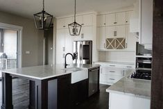 www.pioneercabinetry.ca Wine Storage, Walk In Pantry, Quartz Countertops, New Builds, Estate Homes, Modern Farmhouse, Kitchen, Home Decor, Butler Pantry