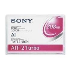 Sony 1PK AIT-2 TURBO 80/208GB NO-MIC ( TAIT2-80NWW ) by Sony. $44.35. Sony is pleased to offer a new Advanced Intelligent Tape (AIT) family AIT Turbo enhancing both capacity and speed of earlier generations while delivering the same highly reliable industry leading 8mm AIT format and technology. AIT Turbo series offers capacities from 20GB to 40GB native and 52GB to 104GB pressed for effective cost performance. AIT Turbo reflects technical excellence which Sony has prov...