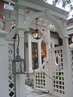 Pergola Terraza Policarbonato - - Pergola Attached To House Garden Structures - - Backyard Pergola, Backyard Landscaping, Gazebo, Pergola Swing, Garden Gates And Fencing, Garden Arbor, Outdoor Rooms, Outdoor Gardens, Outdoor Living