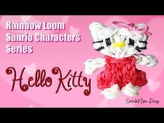 This is a video tutorial on how to make a Hello Kitty Charm on the Rainbow Loom. PLEASE NOTE THAT THIS IS AN ADVANCED LEVEL PROJECT. IT REQUIRES TWO RAINBOW ...