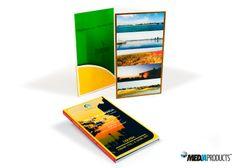 CD-ROM em embalagem de luxo, produzida para organismo promotor da cidade de Luanda.