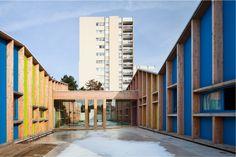 Kindergarden – Epinay Nursery School – BP Architectures