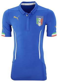 Puma Italy Home Jersey - World Cup 2014...Available at SoccerPro right now!