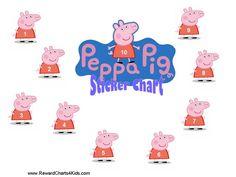 Peppa Pig Behaviour Charts