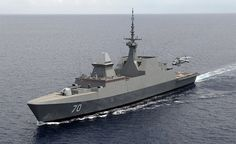 Singapore's Formidable class Frigate