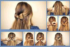 Easy hair bows