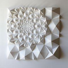 Tepetech: Escultura de papel: Matthew Shlian