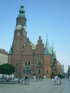 Wroclaw//Town Hall//13th-16th century//v77