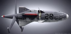 Hydra Parasit aircraft design by Daniel Simon for ' Captain America '   © MARVEL