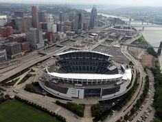 Cincinnati Bengals' Paul Brown Stadium.