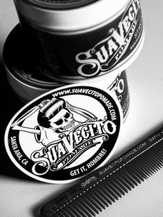 {Suavecito Pomade, some good stuff.}