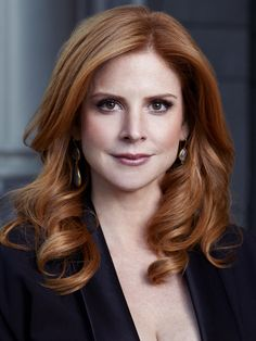 Suits: Sarah Rafferty as Donna Paulsen- she is one of the funniest people on that show!