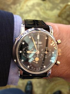 #Watch with #Style -- #PatekPhilippe