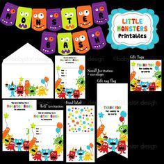 Little Monster Printables