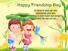 Friendship is the golden thread that ties all hearts together! Happy Friendship Day :-)