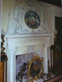 Trompe l'oeil over fireplace by Donzine Home Decor, Eyes, Decoration Home, Room Decor, Interior Decorating