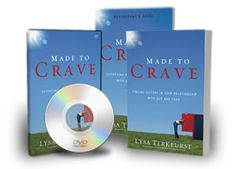 The Made to Crave Participant's Guide will take you through a much deeper, richer and more meaningful journey in this study. We are so excited about the Participant's Guide! It adds strong value to the book and encourages you to ponder critical areas essential to tackle in your struggle with food. It was designed to be used with the book and the DVD teaching series. The Participant's Guide is essentially the icing on the cake (so to speak) to help you draw closer to God physically…