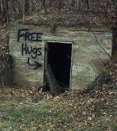 Free Hugs Here