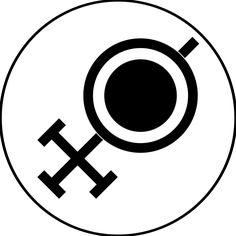 Rondra Symbol - goddess of battle, duels and thunderstorms (The Dark Eye)
