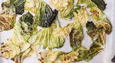 Come-cucinare-la-verza-chips-di-verza