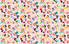 Princess Gathering fabric by 1211lynn on Spoonflower - custom fabric