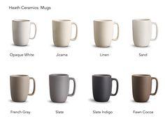 Heath Ceramics: Mugs