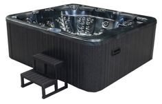 The Design your own hot tub section allows the buyer to completely bespoke a design of the hot tub from shell & cabinet colour to additional internal extras Wooden Steps, Waterfall Fountain, Cabinet Colors, Hot Tubs, Build Your Own, Emperor, Jets, Design Your Own, Spa