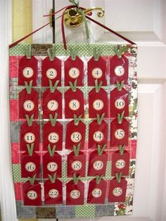 Fun idea for advent calendar