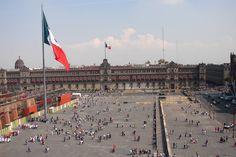 El Zocalo, Mexico City